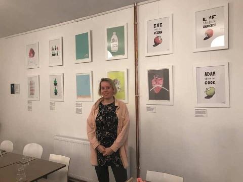 Pretty political artist solo exhibition